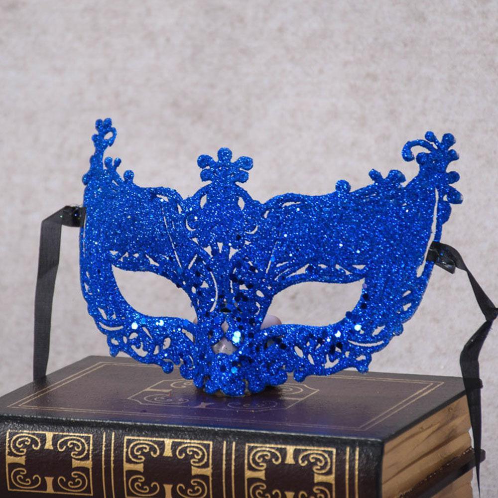 New Venetian Mask Adult Womens Masquerade Costume Accessory Fancy Dress