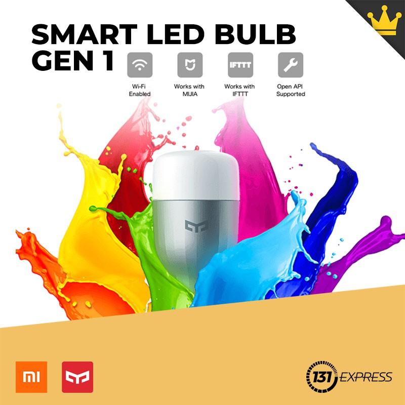 Xiaomi Yeelight LED Light Blub Gen 1 [Color Version]