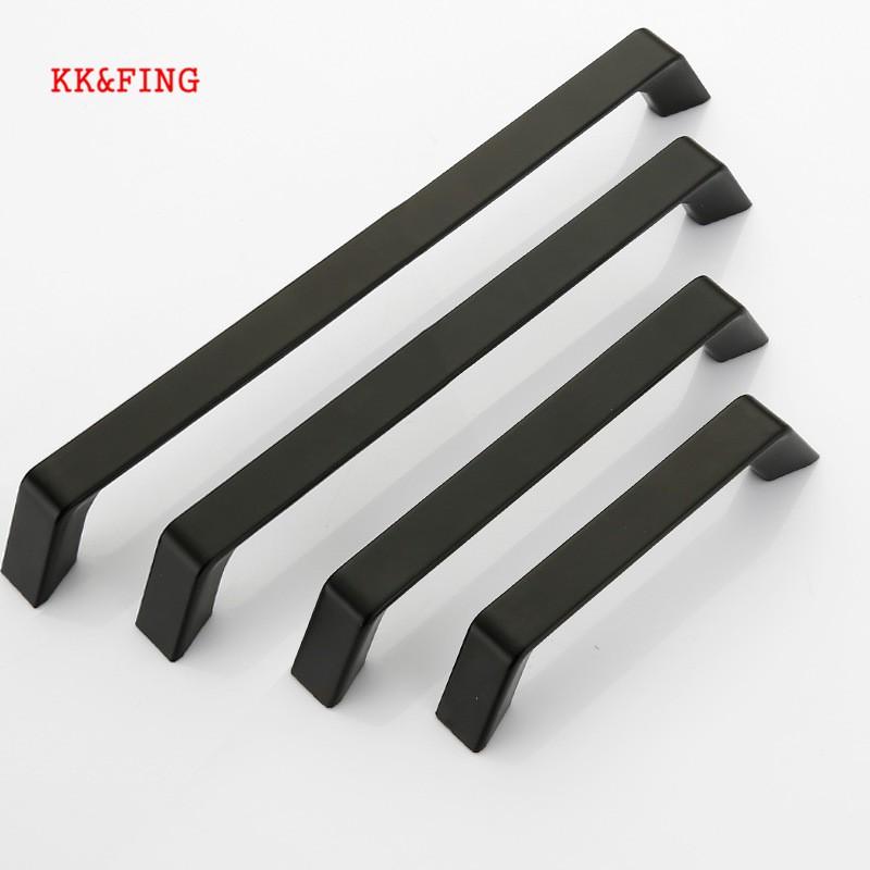Kk Fing American Style Aluminum Black, Kitchen Cabinet Hardware Supplies