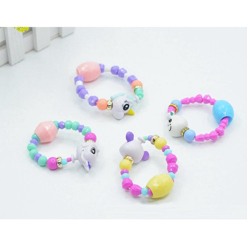 Twisty Petz DIY Elf Unicorn Magic Twisted Bracelet Children Beaded Toy Fashion Accessories