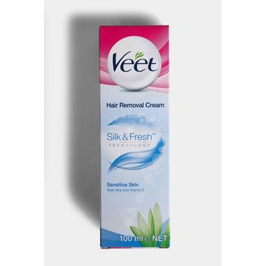 Veet Hair Removal Cream Sensitive Skin 100ml Shopee Singapore
