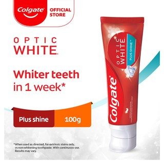Colgate Optic White Plus Shine Whitening Toothpaste