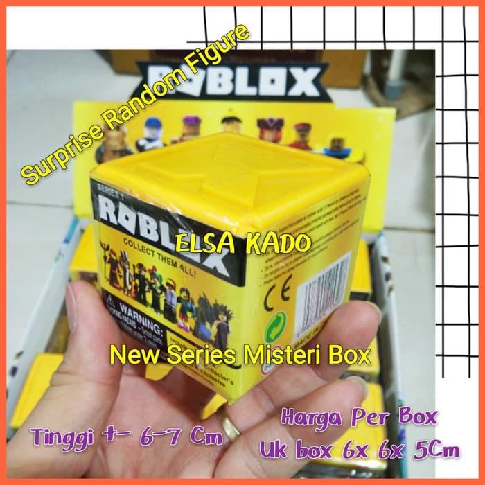 Mystery Roblox Toys Mini Figure Box New Series Surprise Game Brick