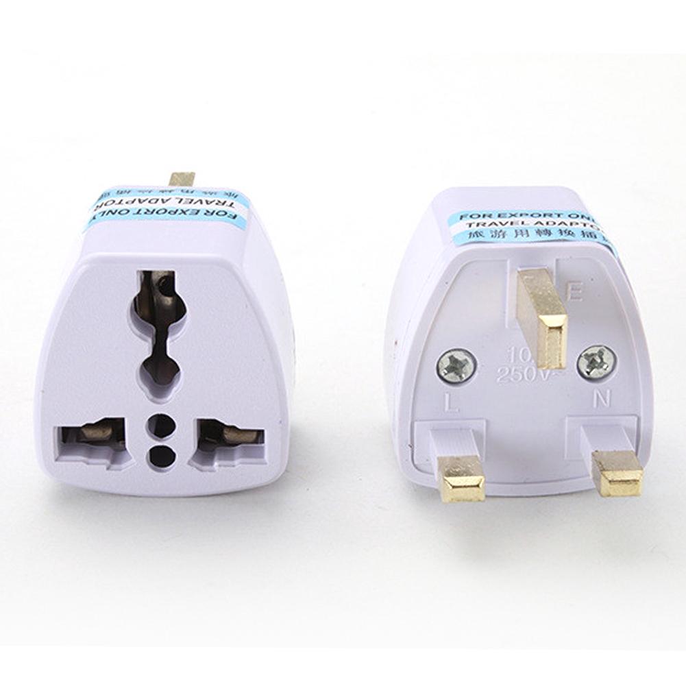 World Wide Travel Adapter SOUTH KOREA Extension Lead Multi 3 UK Plug 4 USB to...