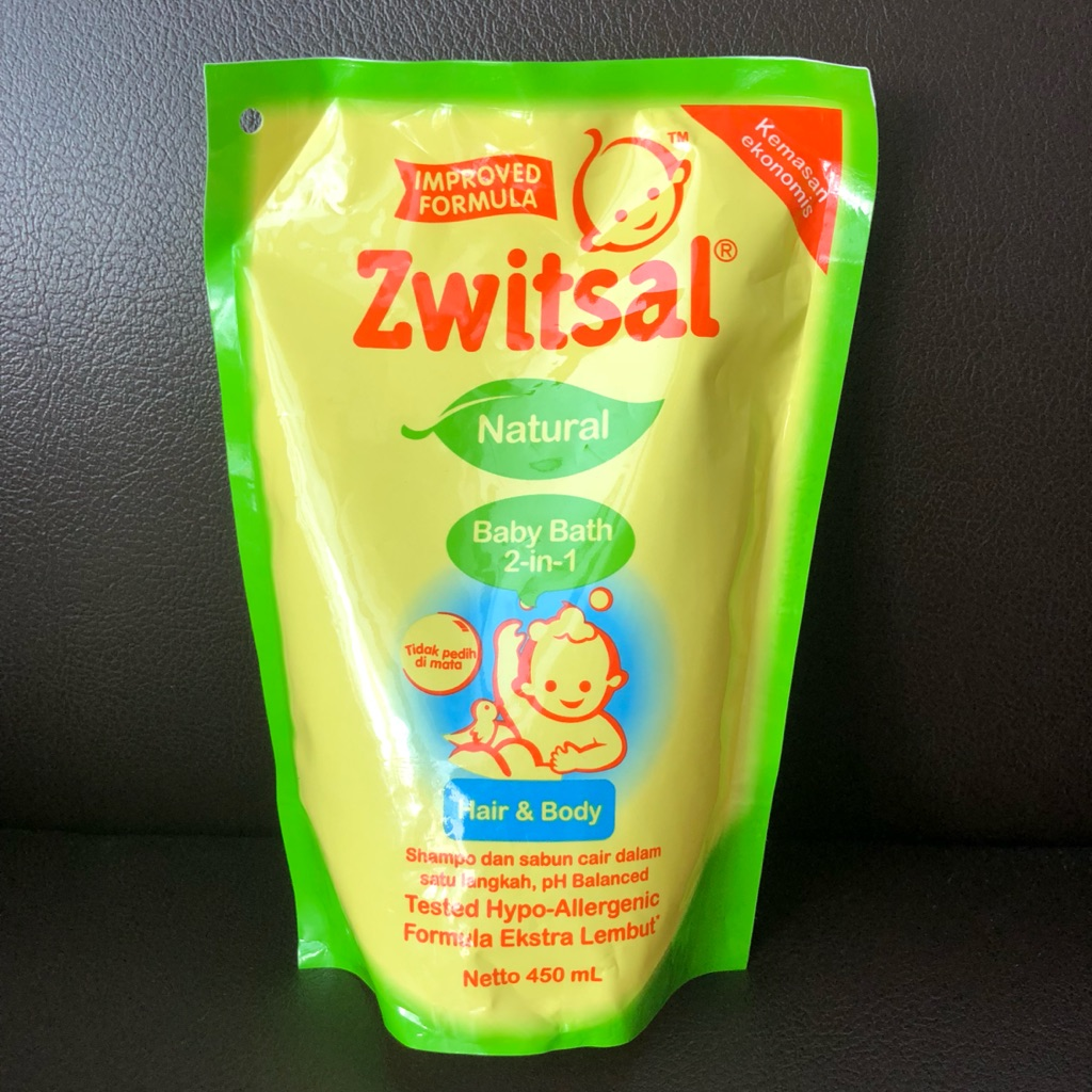 Zwitsal Products Shopee Singapore Twin Pack Baby Bath Natural Milk Ampamp Honey Pouch 450 Ml