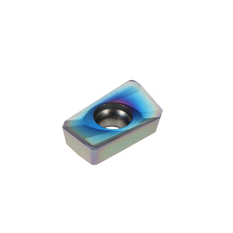 10pcs HRC52 APMT1604PDER NB7010 25R0.8 Carbide Inserts Milling Cutter Blue Nano