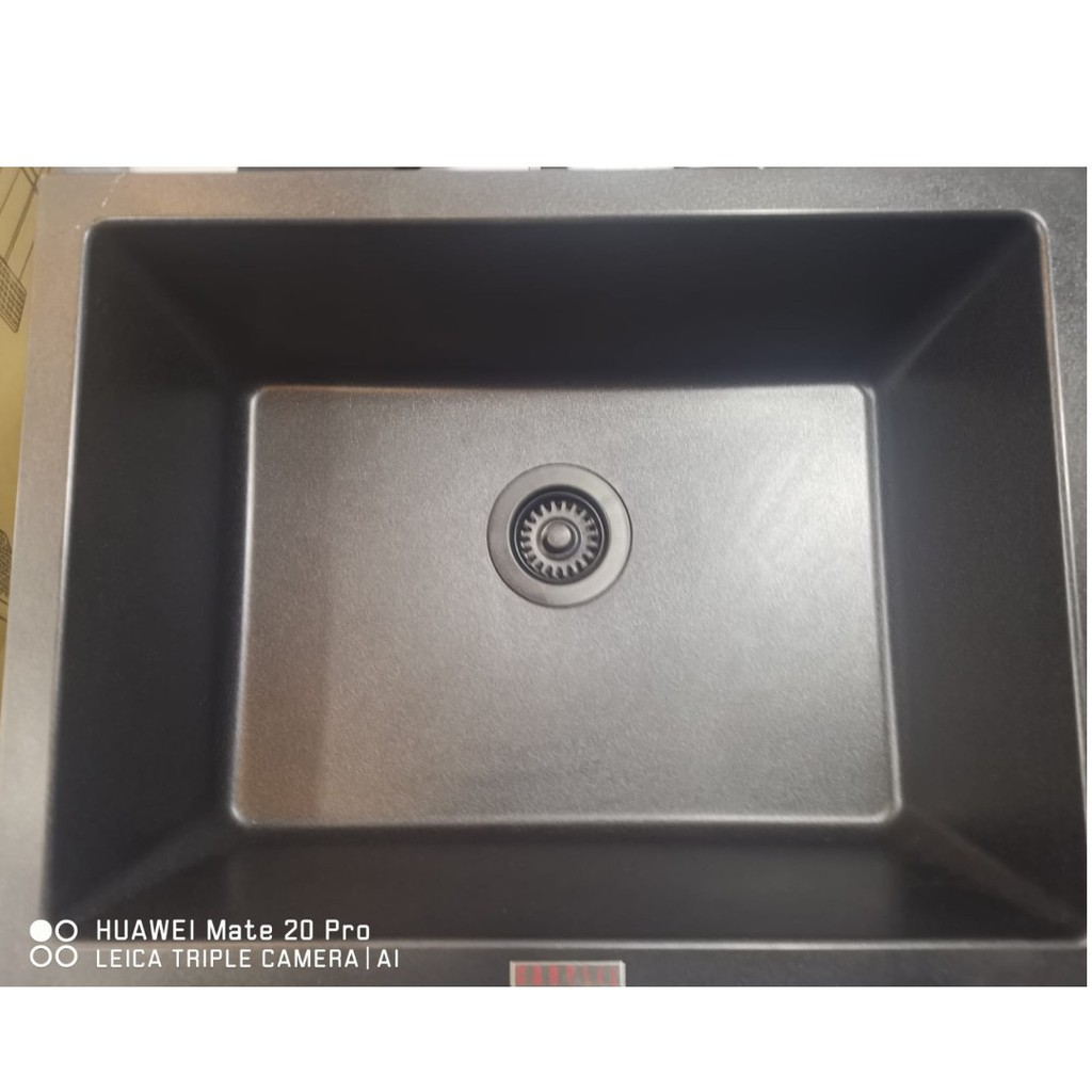 Granite Kitchen Sink Carysil Big Bowl Shopee Singapore