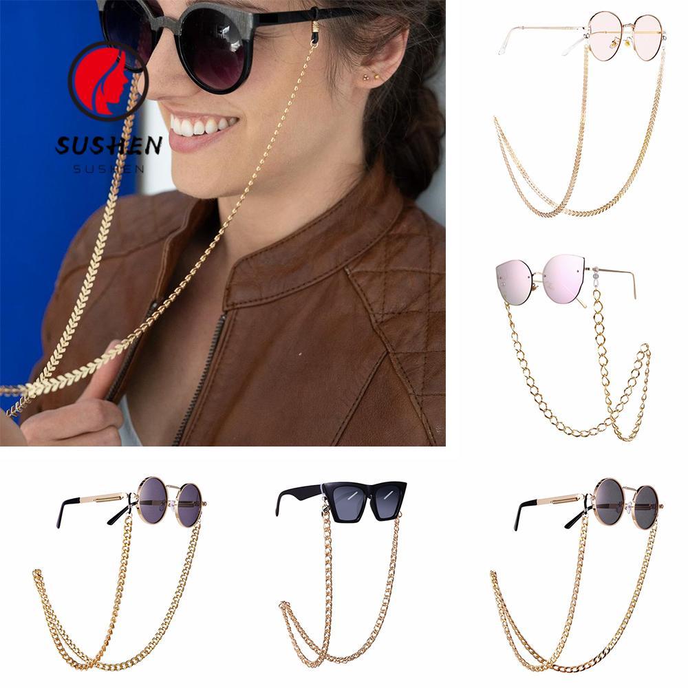 HOT Eyeglass Chains Sunglasses Holder Necklace Reading Glasses Non-slip Lanyard