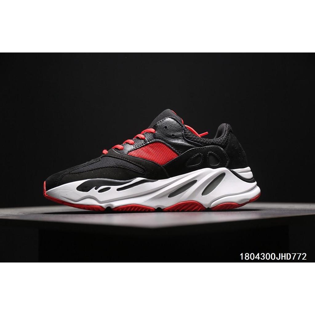 c91123ce07633 Adidas Calabasas Yeezy Boost 700 Wave Runner  Black Red White ...