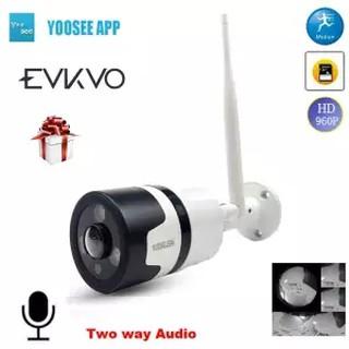 EVKEV Yoosee APP Fisheye VR 3D Wifi Bullet Ip Camera 960P