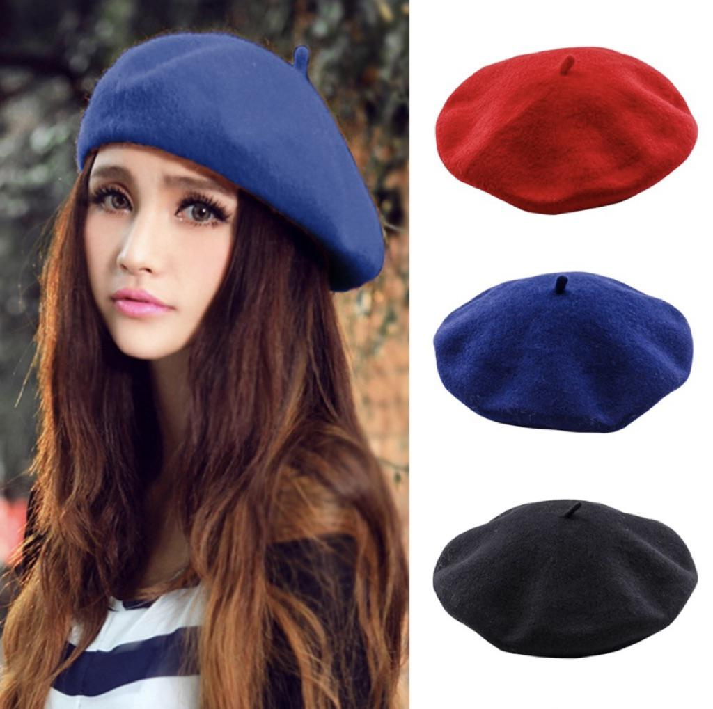 4d4180b1 Beret looks EXACTLY like what you see in he photos. Quality is amazing and  it looks CLASSY. 10/10 recommend also because it really helps keep your  hair in ...
