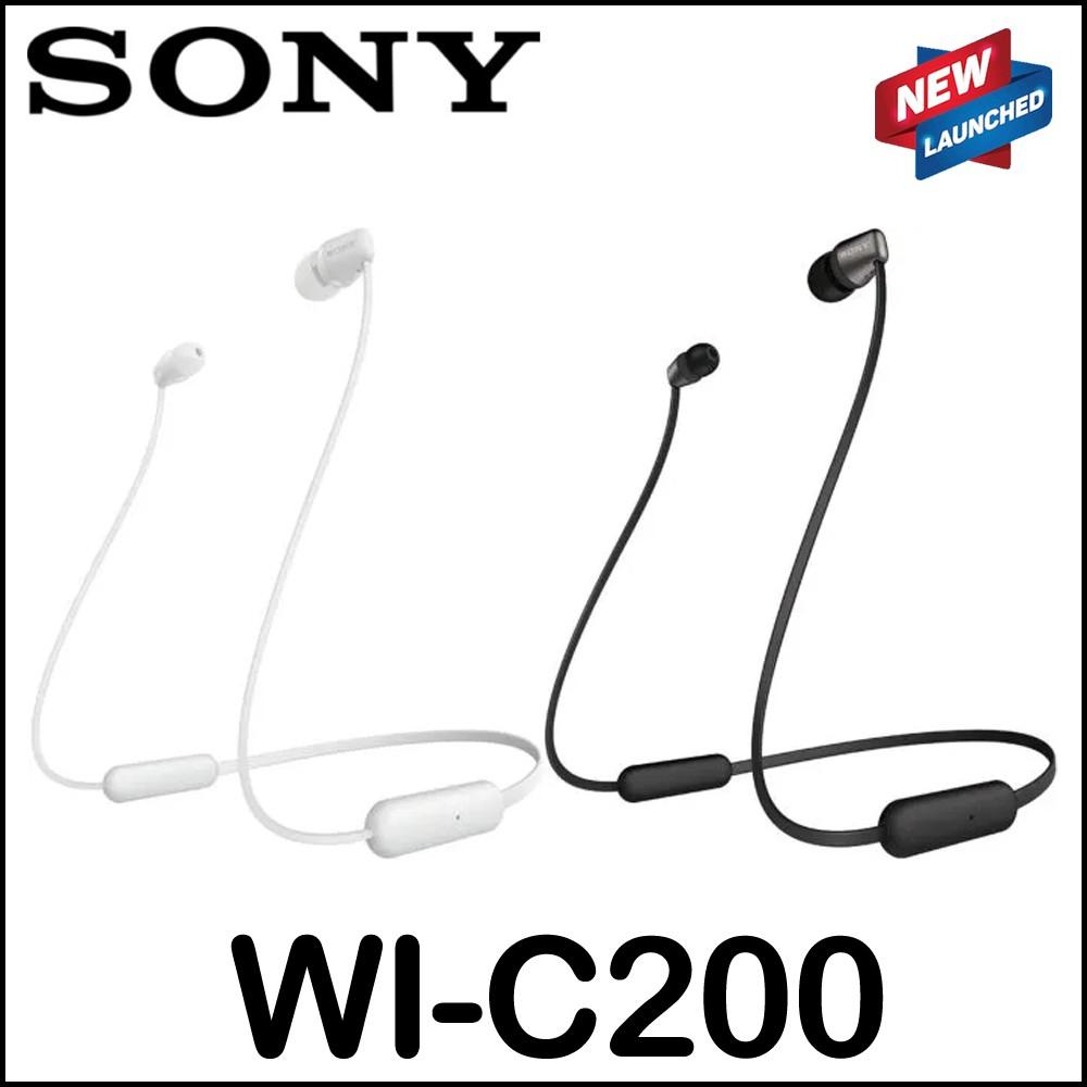 Sony WI-C200 Bluetooth Wireless In-Ear Sports Earphones Earphone