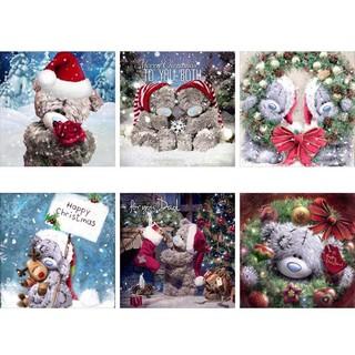 H3E# 5D DIY Special Shaped Diamond Painting Santa Claus Embroidery Mosaic Kits