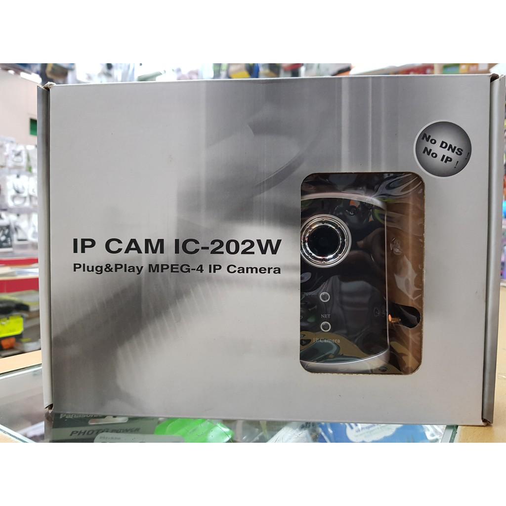 IP IC-202W-N2 Plug and Play MPEG-4 Wireless Network IP Camera