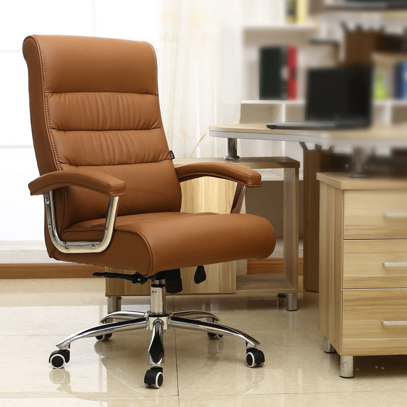 Leather Office Chair Boss Lift