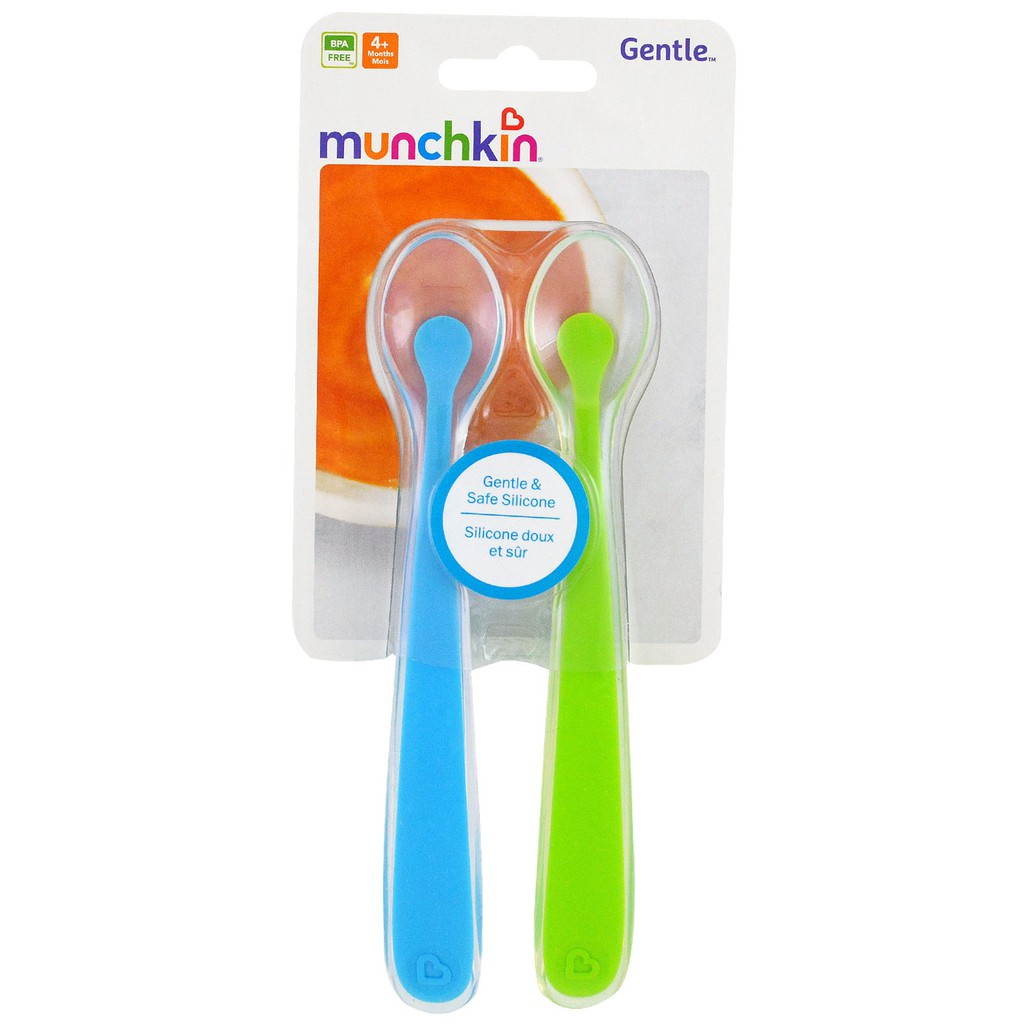 Munchkin Squeeze Spoon Shopee Singapore Easy Squeezy Baby Utensils