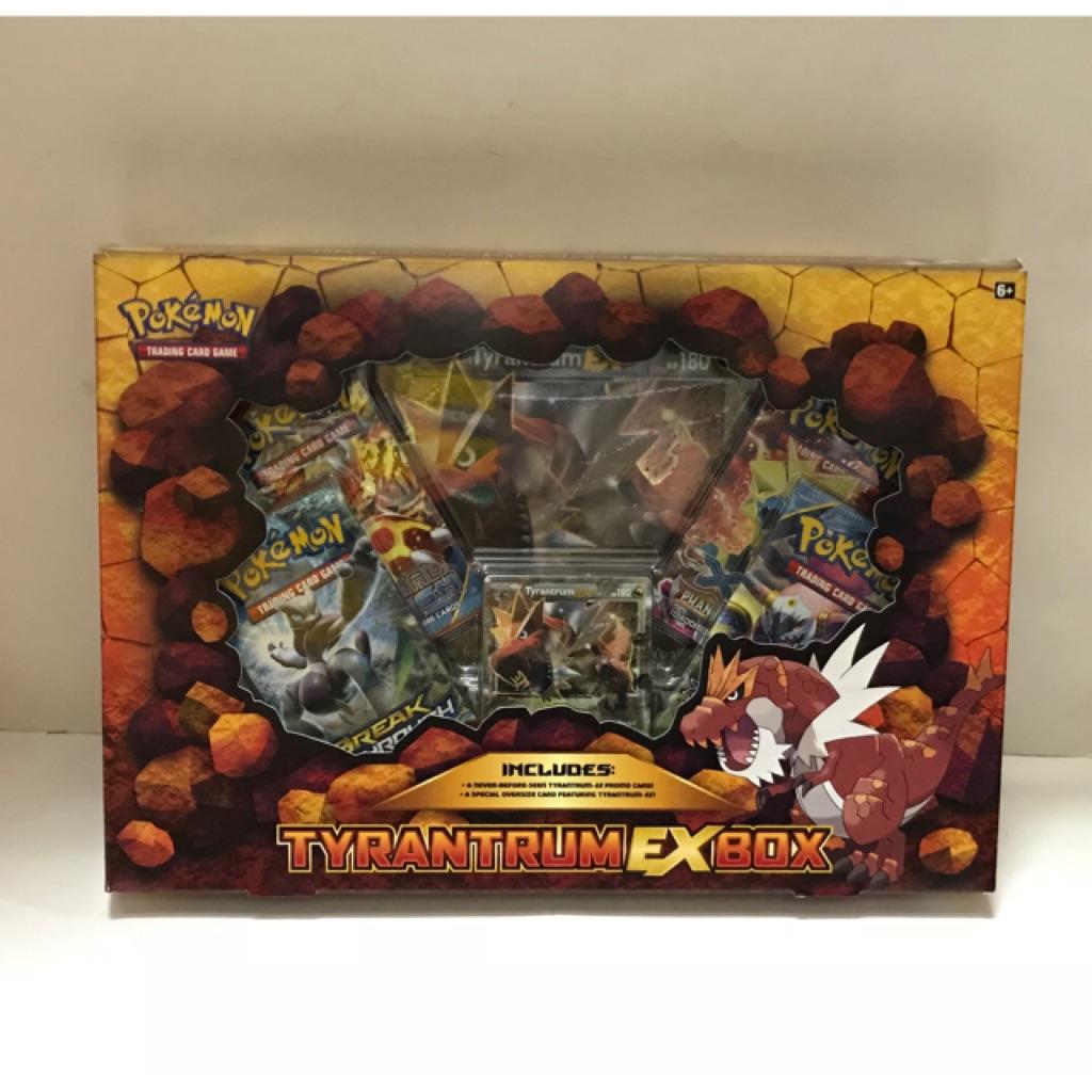 Pokemon Tyrantrum Ex Box