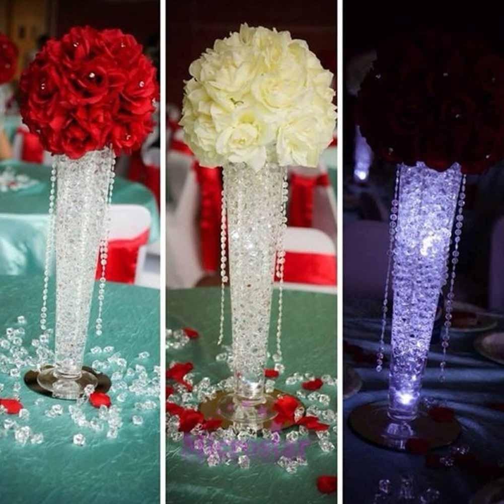 4.5mm Diamant Cristal De Confettis Acrylique DIY Mariage Table De Scatter D/écoration 2000Pcs