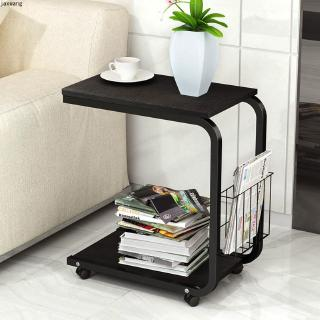 Modern Minimalist Bedroom Bedside Movable Side Table Living Room Mini Multi Function Small Square Side Cabinet Shopee Singapore