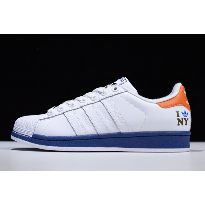 adidas superstar shoes blue