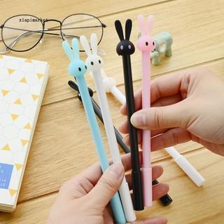038mm Gel Pen W Transparent Barrel Nib Cute Stationery Office School SupplyV
