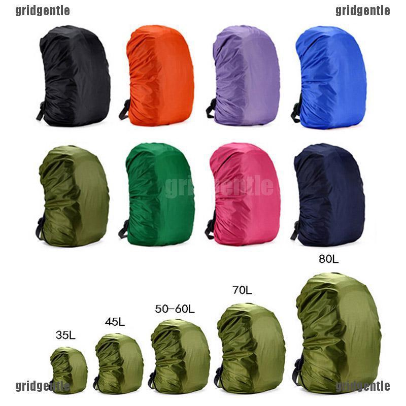 EG/_ 35L-80L Waterproof Backpack Luggage Rucksack Rain Cover for Camping Hiking G