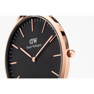 5610c7a0b405  INSTOCK  Original Daniel Wellington DW Classic Black Gold 36MM 40MM Dial
