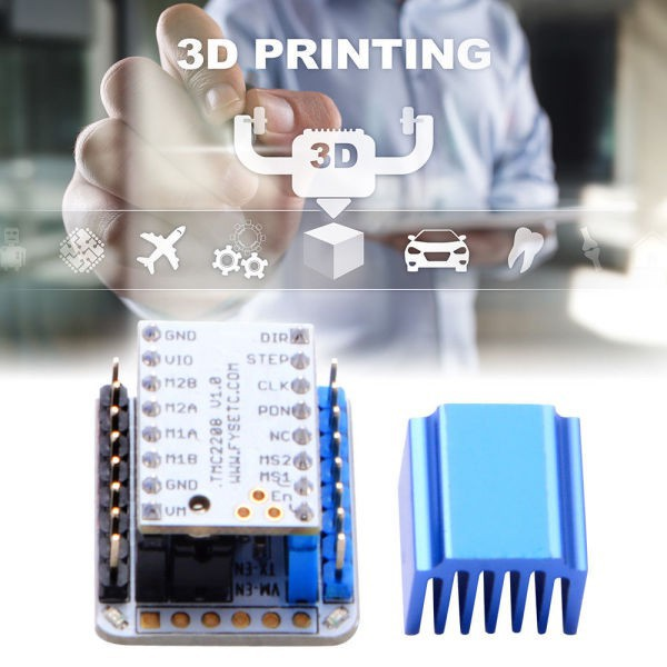 ★TMC2208 V1 0 Stepper Motor Driver + Tester Module with Stackable Headers  TE946