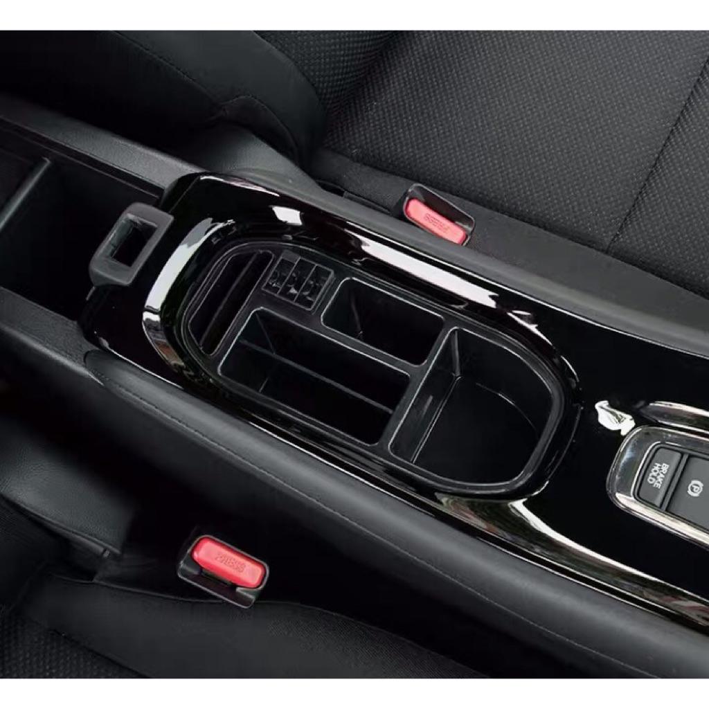 Leather Car Center Console Armrests Storage Box For Suzuki Swift