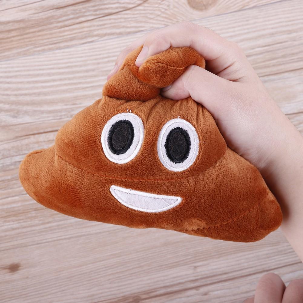 Emoji Poop Plush Toy Pillow Cushion Home Living Decor for Bed Sofa Car Super