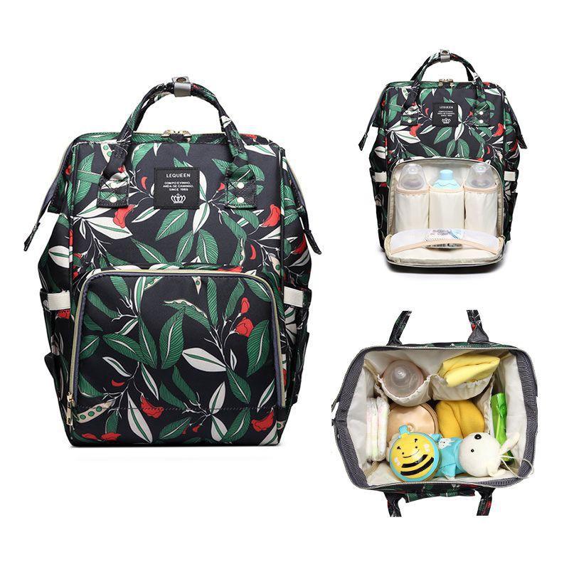 TIGERNU Mommy Diaper Bag Large Capacity Baby Nappy Bags Nursing Bag Fashion  Travel Women Backpack  b46d22c5591ef