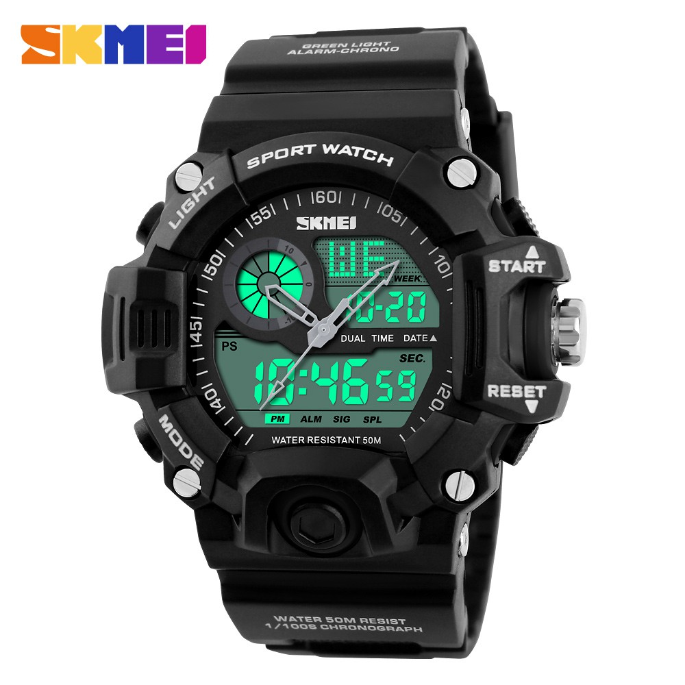 Brave Watches Men Count Down Waterproof Skmei Sport Watch For Men Stainless Steel Dress Digital Wristwatches Male Clock Reloj Hombre Soft And Antislippery Back To Search Resultswatches Digital Watches
