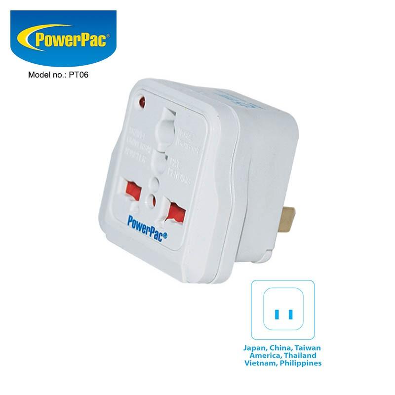 Power Pac Multi Travel Adapter (PT06)