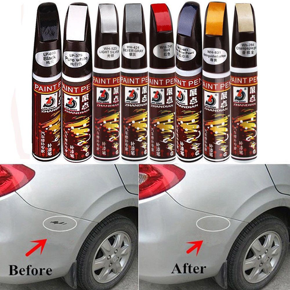 Auto Paint Repair Pen Scratch Remover Touch Up Clear Coat Applicator Fix Tool s