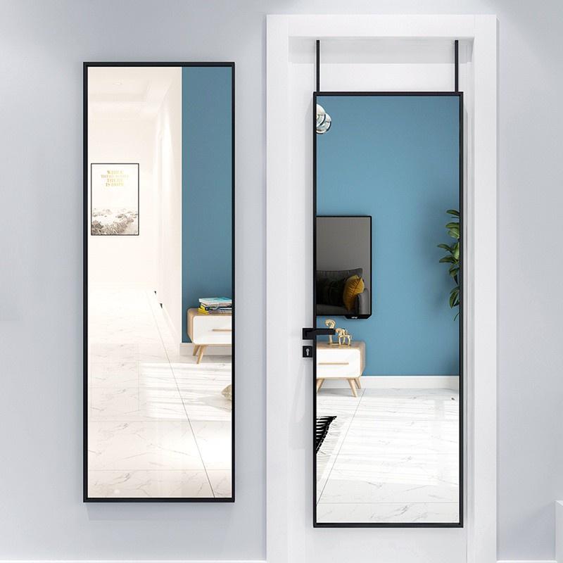 Behind The Door Full Length Mirror Wall, Door Mount Mirror Full Length