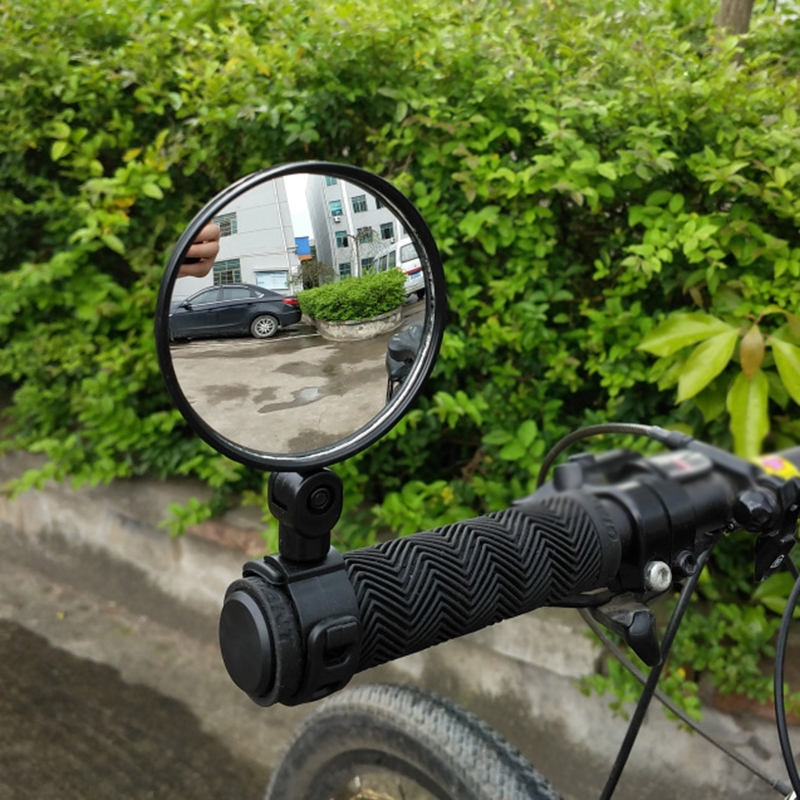 Details about  /Bicycle Cycling Handlebar Rearview Mirror Rotating  Bike Rear View Safety Useful