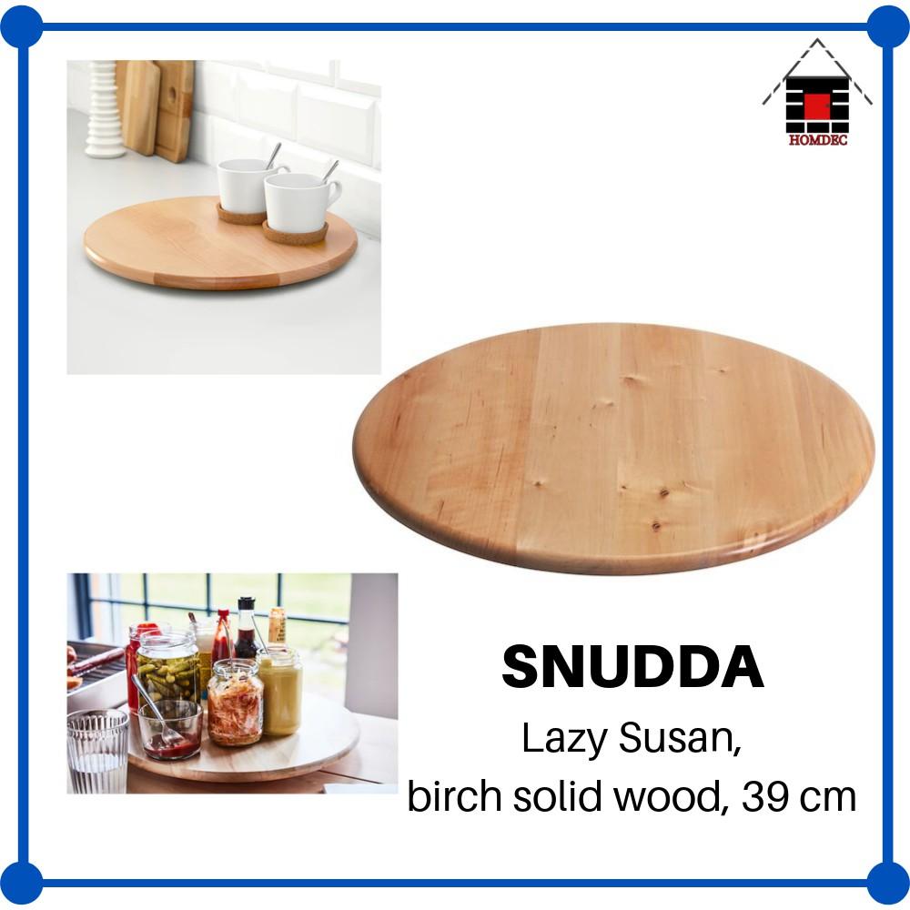 IKEA SNUDDA/ /39/cm /Lazy Susan Solid Wood Birch/