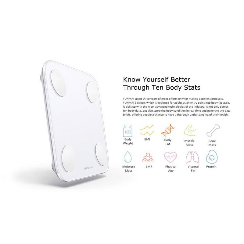 Xiaomi Yunmai Mini 2 smart scale | Shopee Singapore