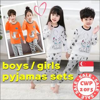 IF Pajamas Kids Cotton Toddler Sleepwear