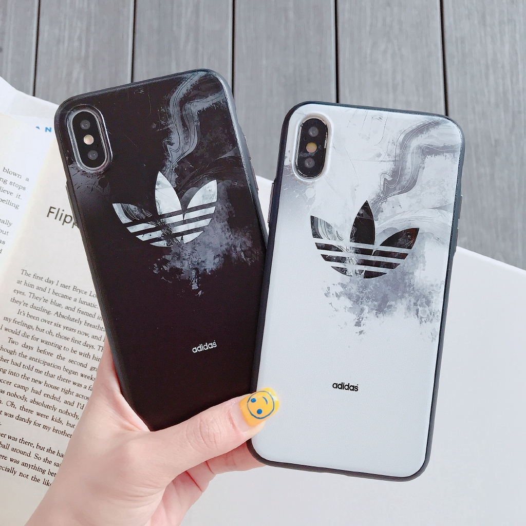 Adidas Marble Soft Iphone 6 Plus Cover 6s 7 8p X Xs Max Xr Case