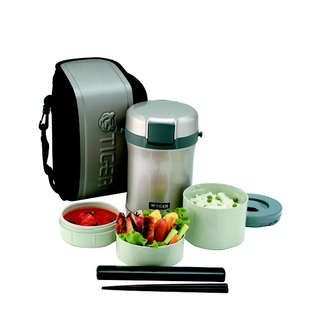 Tiger Code LWU-B170 1 7LT THERMAL LUNCH BOX WITH BAG