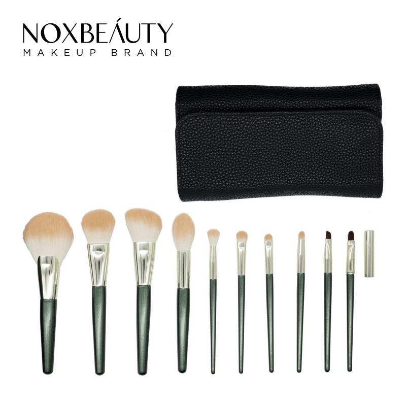 Noxbeauty 10 Pcs Set Makeup Brushes