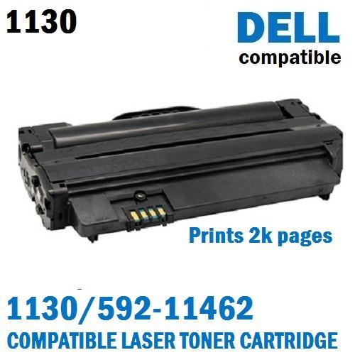 Dell 1130/ 592-11462 Black Compatible Laser Toner Cartridge (Prints 2 5K  Pages)