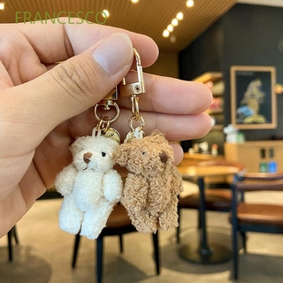 Acrylic Halloween Doll Toy Keychain Ring For Women Girl Purse Charm Jewelry Gift
