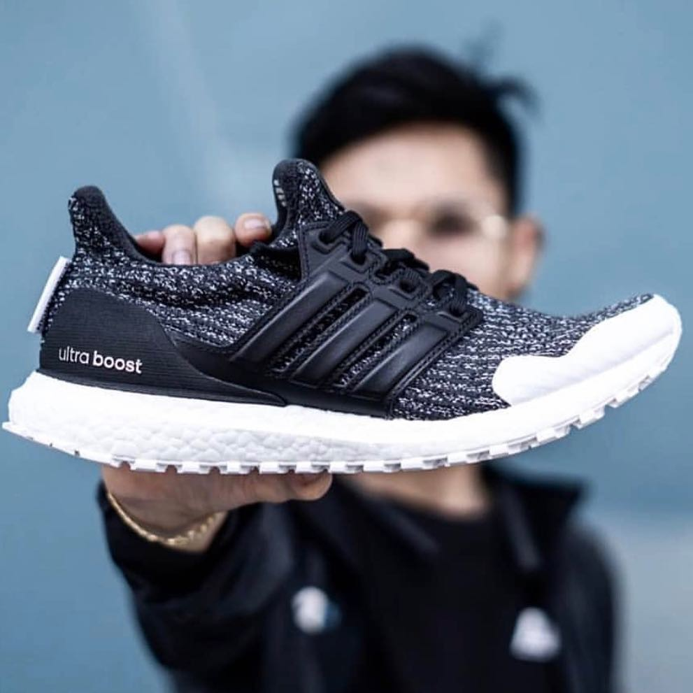quality design 614b0 a330d Ultra Boost 4.0 'Iridescent' (Black and White) | Shopee Singapore