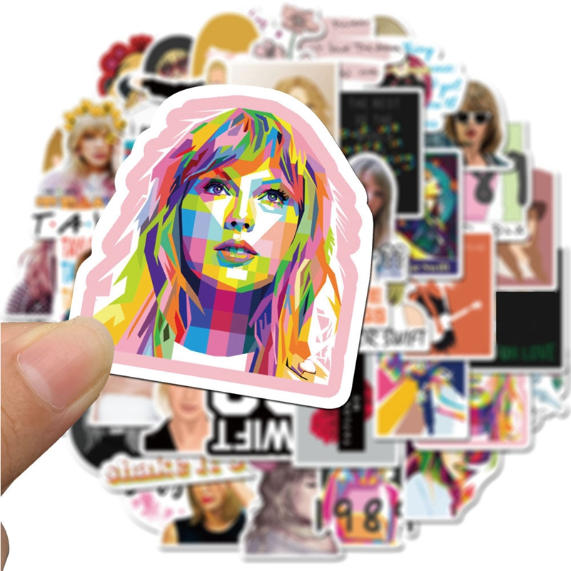 Gifts Diy Toys For Children Taylor Swift Stickers Sticker Shopee Singapore