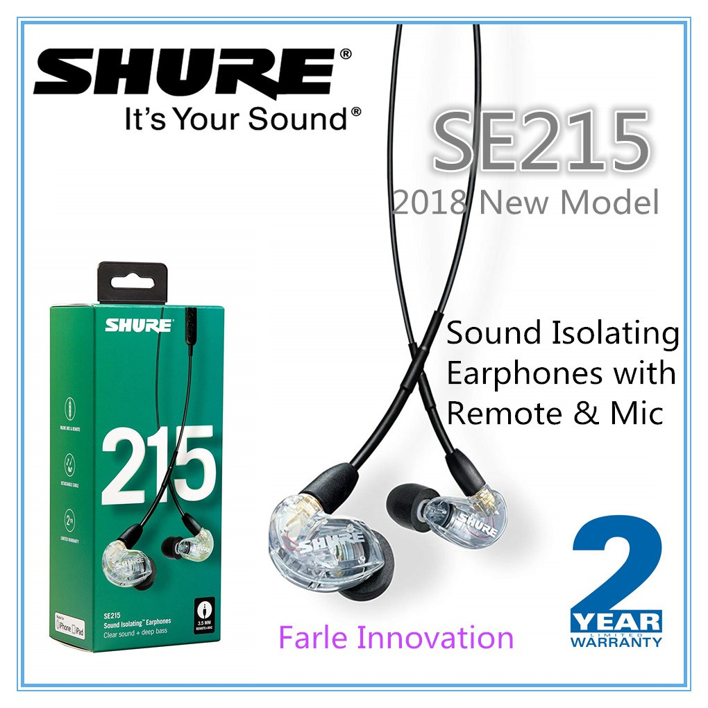 5b9abcdbf96 shure se215 - Prices and Deals - Jul 2019 | Shopee Singapore