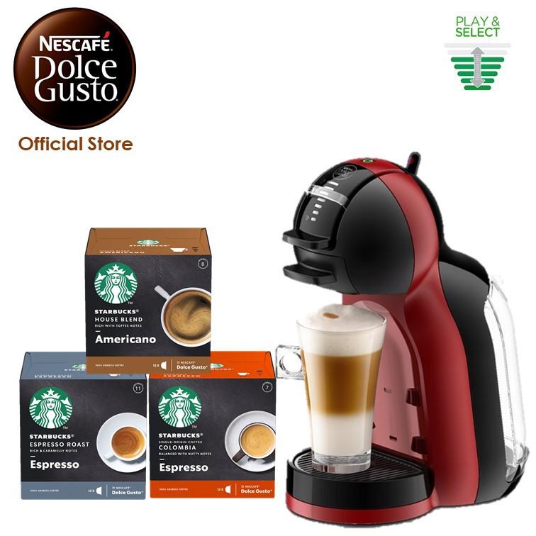 Nescafe Dolce Gusto Mini Me Coffee Machine With Free 3 Boxes Starbucks Capsules