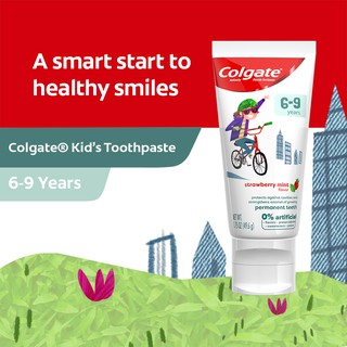 Colgate Kids 0-percent Artificial Toothpaste 1000ppm Fluoride 6-9 Years