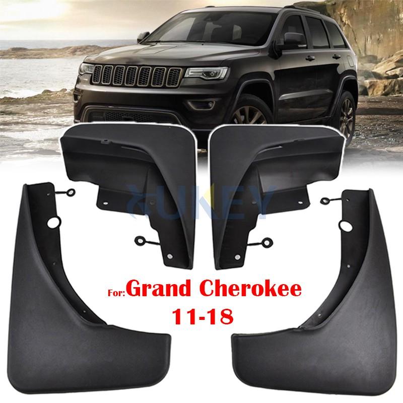 4x Mudflaps Mud Flaps Mudguards Splash Guards For Jeep Grand Cherokee WK2 11-18